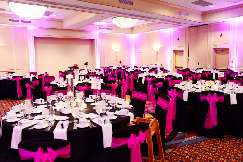 Ally + Aaron Reception Set Up