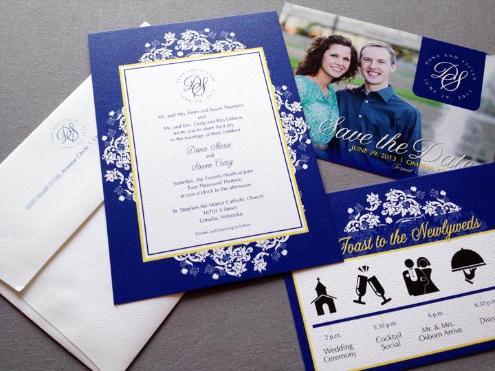 Blue Navy Wedding