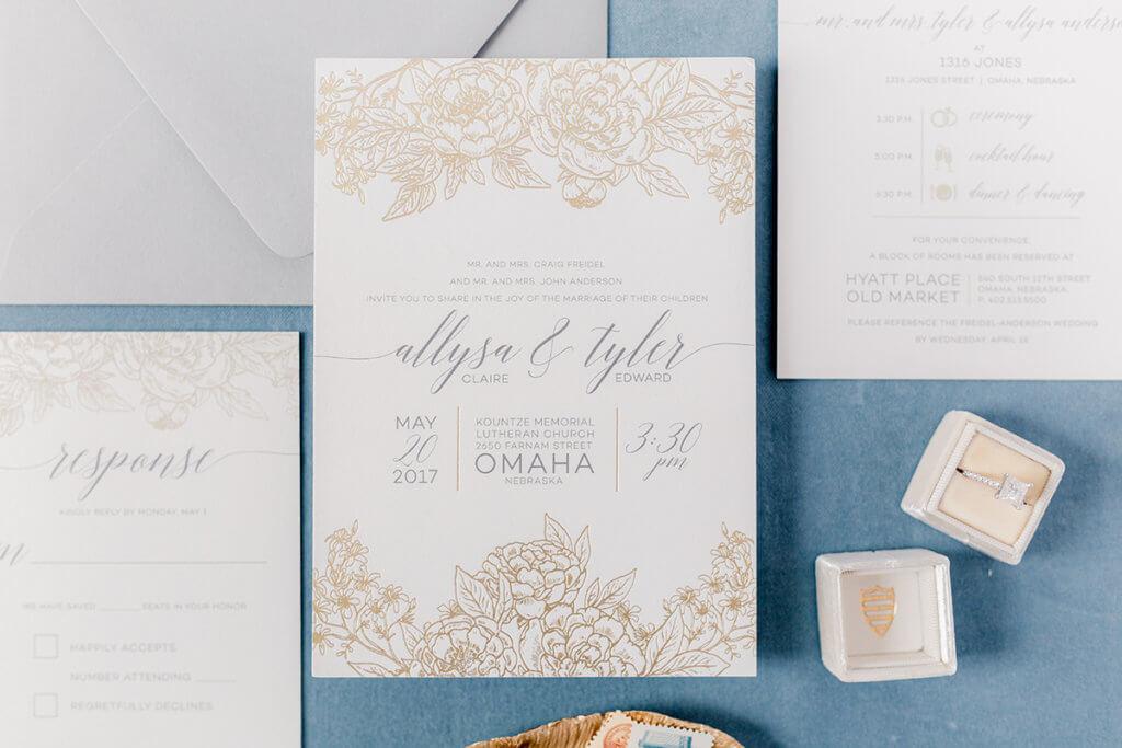 Five Reasons to Choose Custom Designed Wedding Invitations | Dana ...