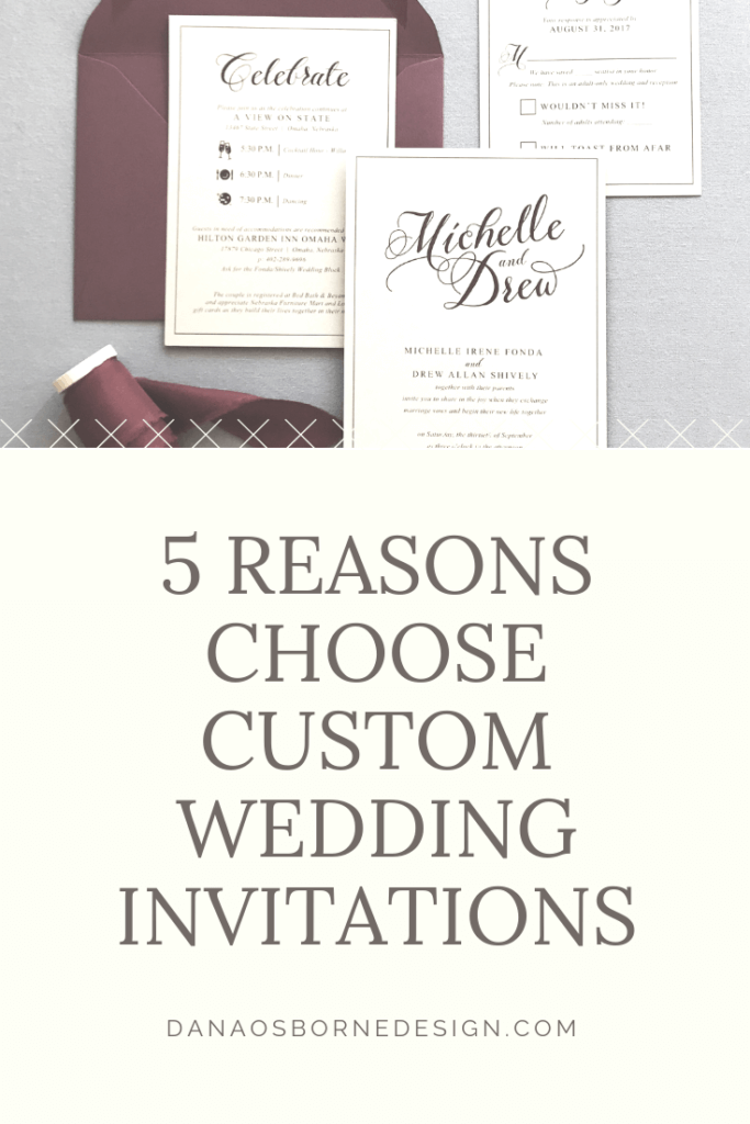 custom wedding invitations, wedding invitations, invitation designer, Dana Osborne Design, midwest wedding invitations