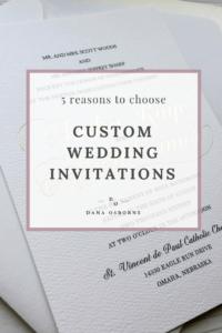 custom wedding invitations, wedding invitations, invitation designer, Dana Osborne Design, midwest wedding invitations