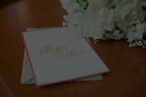 wedding invitation, dana osborne design, classic wedding invitations, omaha, nebraska, lincoln, midwest wedding