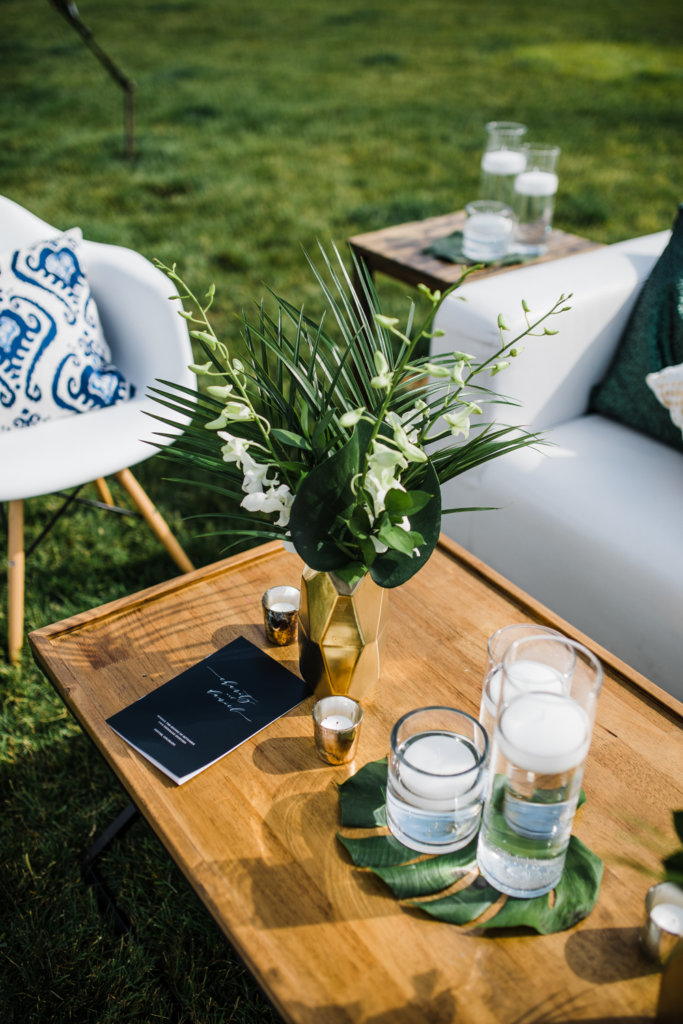 Wedding Decor Greenery Outdoor Wedding Dana Osborne Design