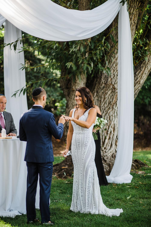Wedding Ceremony Outdoor Denver Colorado Dana Osborne Design