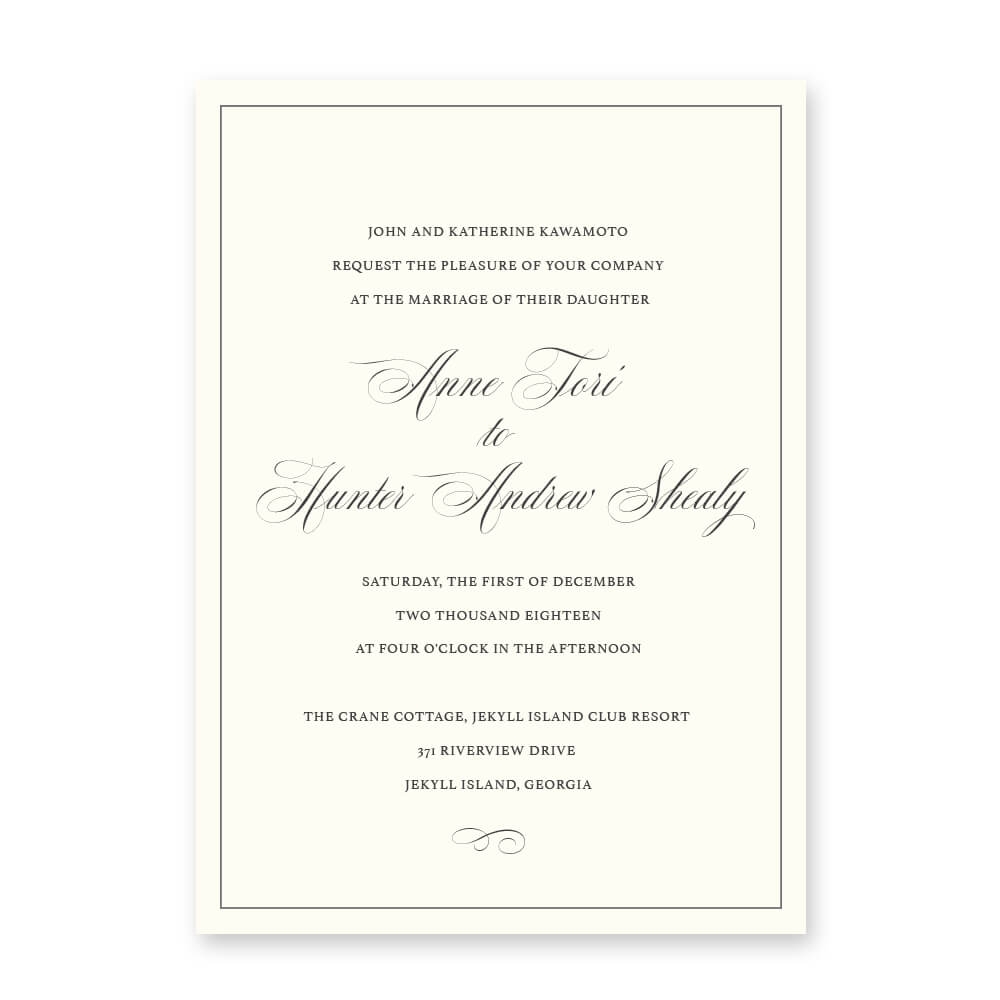 affordable wedding invitations omaha nebraska midwest classic
