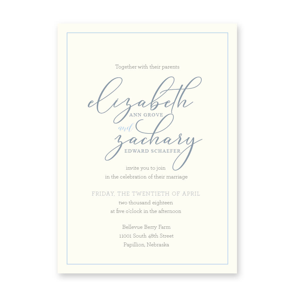 affordable wedding invitations omaha nebraska dana osborne design