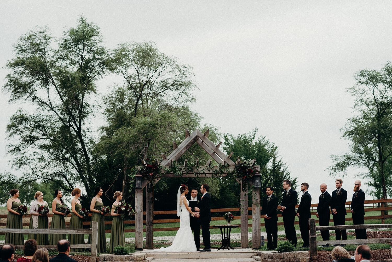 wedding party dana osborne design