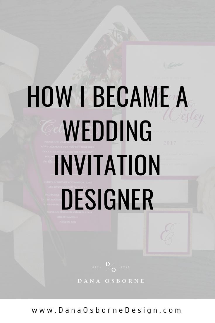 invitation designer, freelance graphic design, dana Osborne design, Omaha, midwest, graphic designer