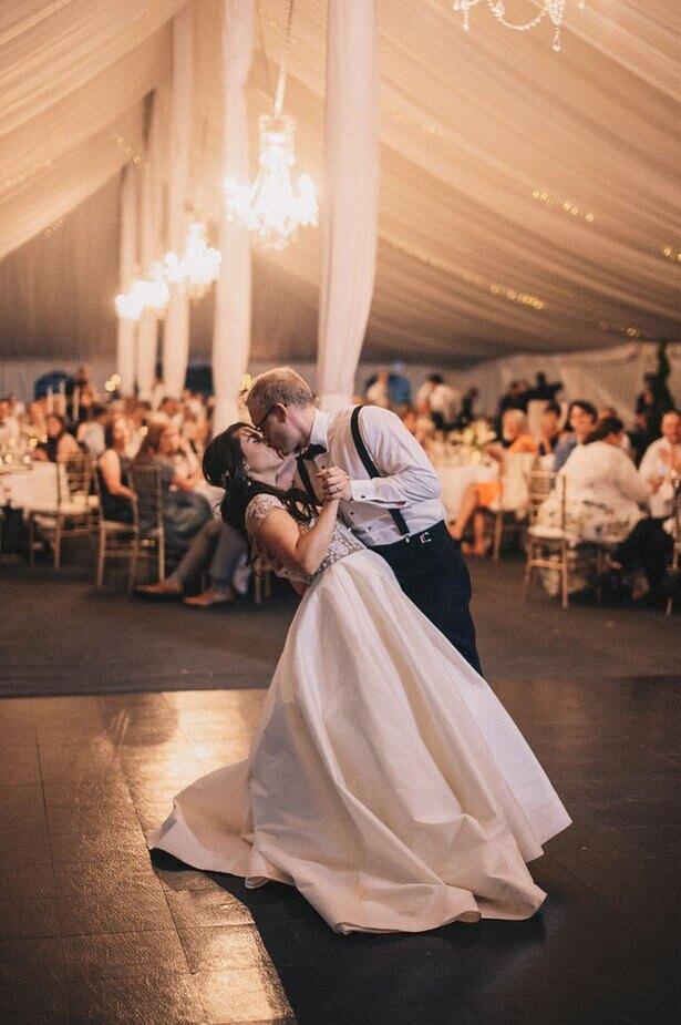 first dance south dakota wedding sioux falls dana osborne design