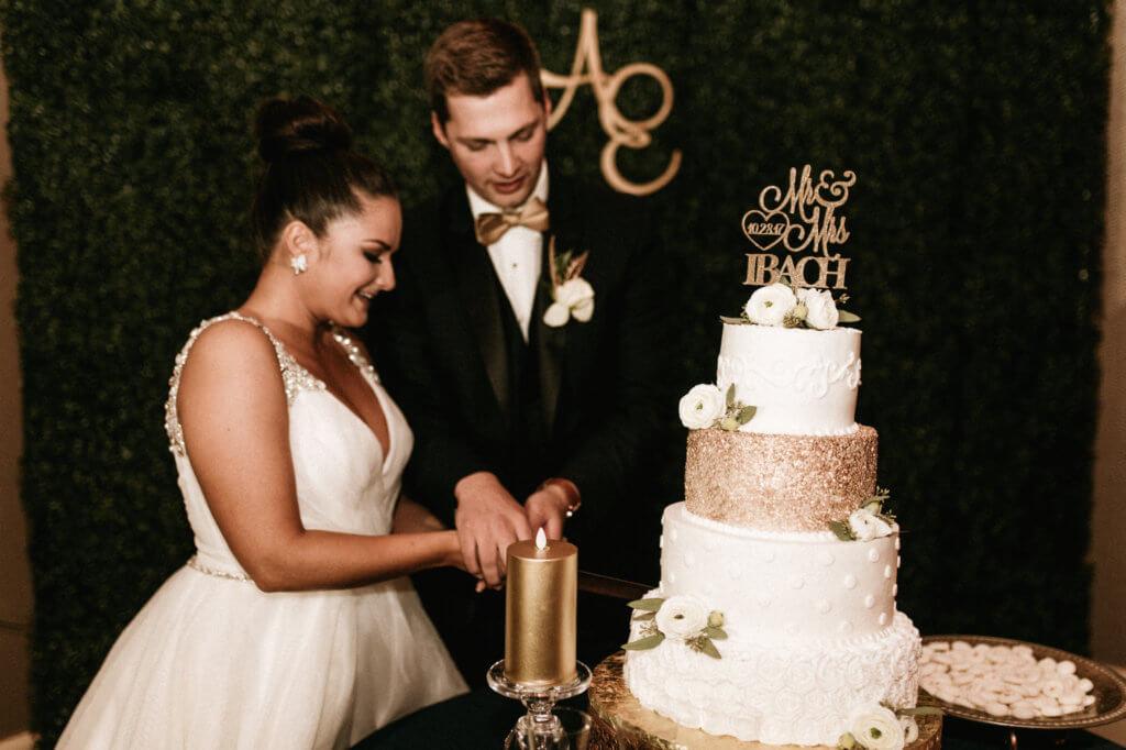 Cut Cake Omaha Hilton Dana Osborne Design