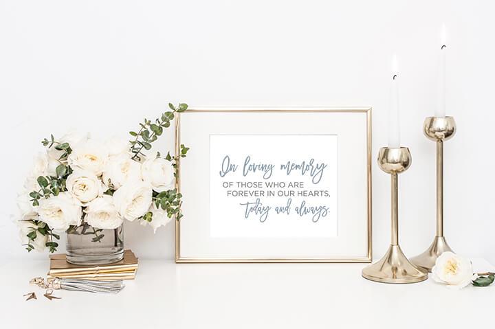 Dana Osborne Design In Memory Sign