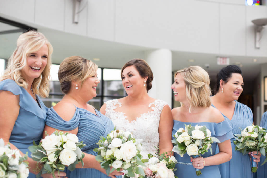 Slate Blue Wedding Omaha Dana osborne Design