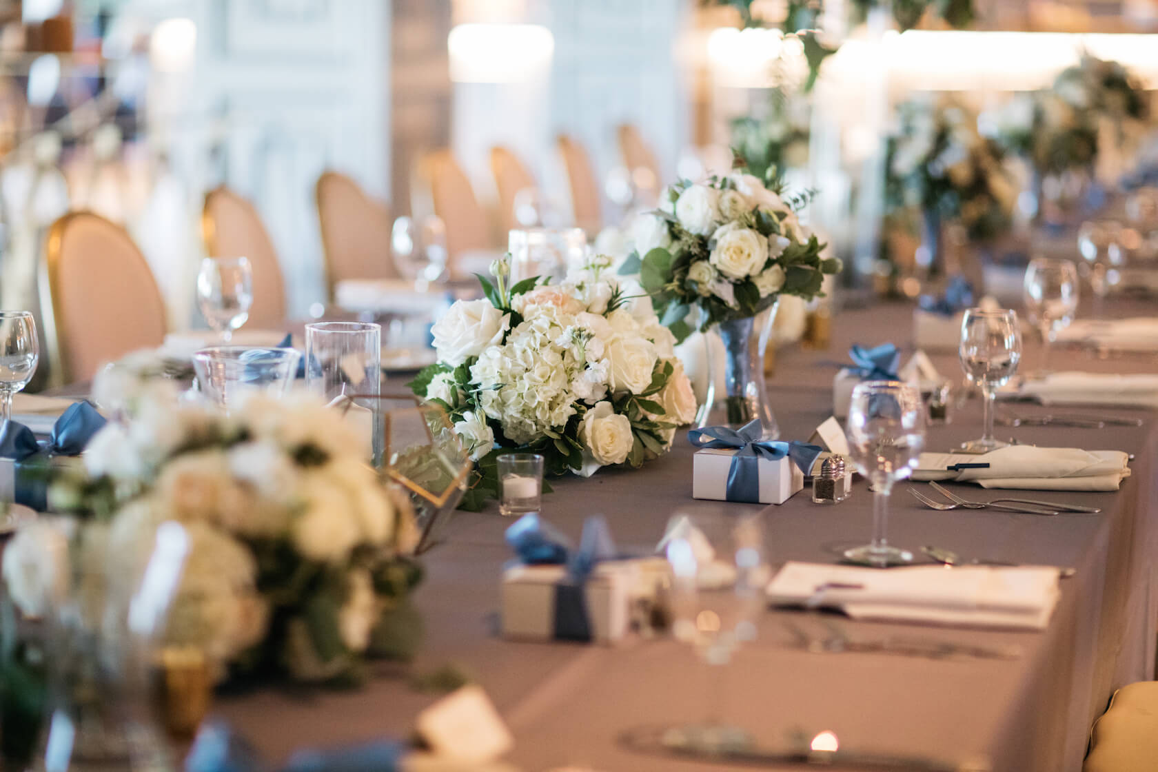 Table Setting Omaha Wedding Happy Hallow Dana Osborne Design