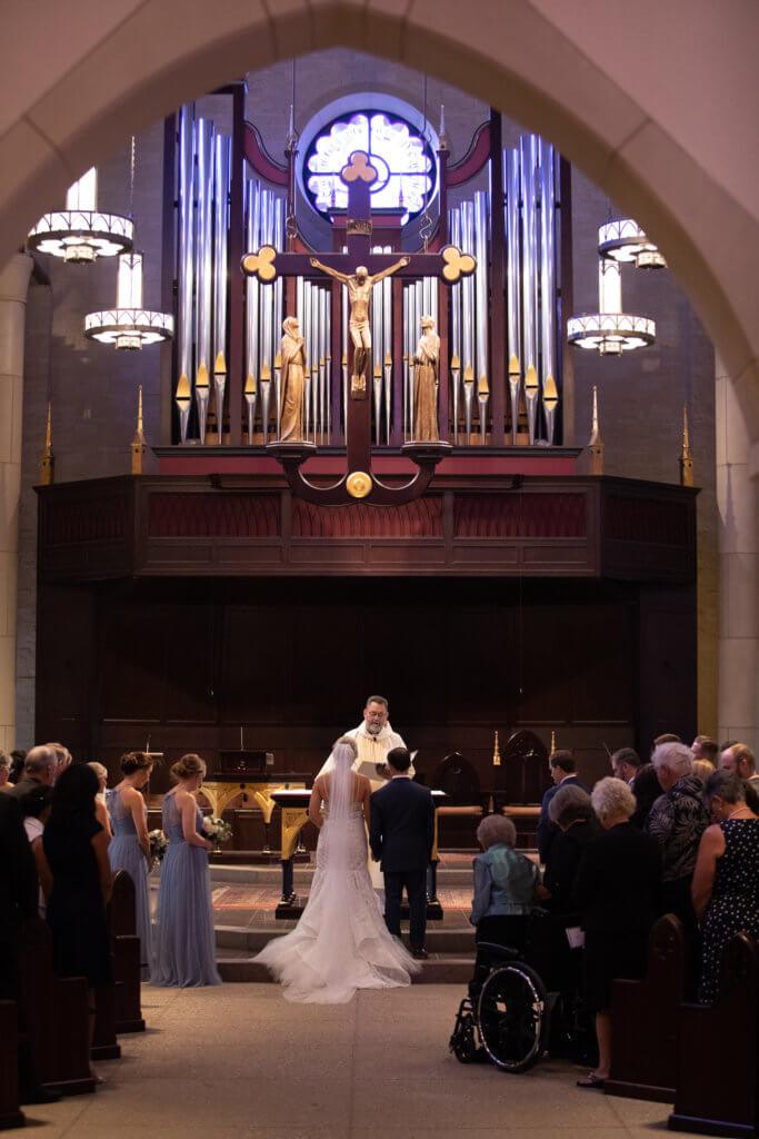 St Vincent de Paul Omaha Wedding Dana Osborne Design
