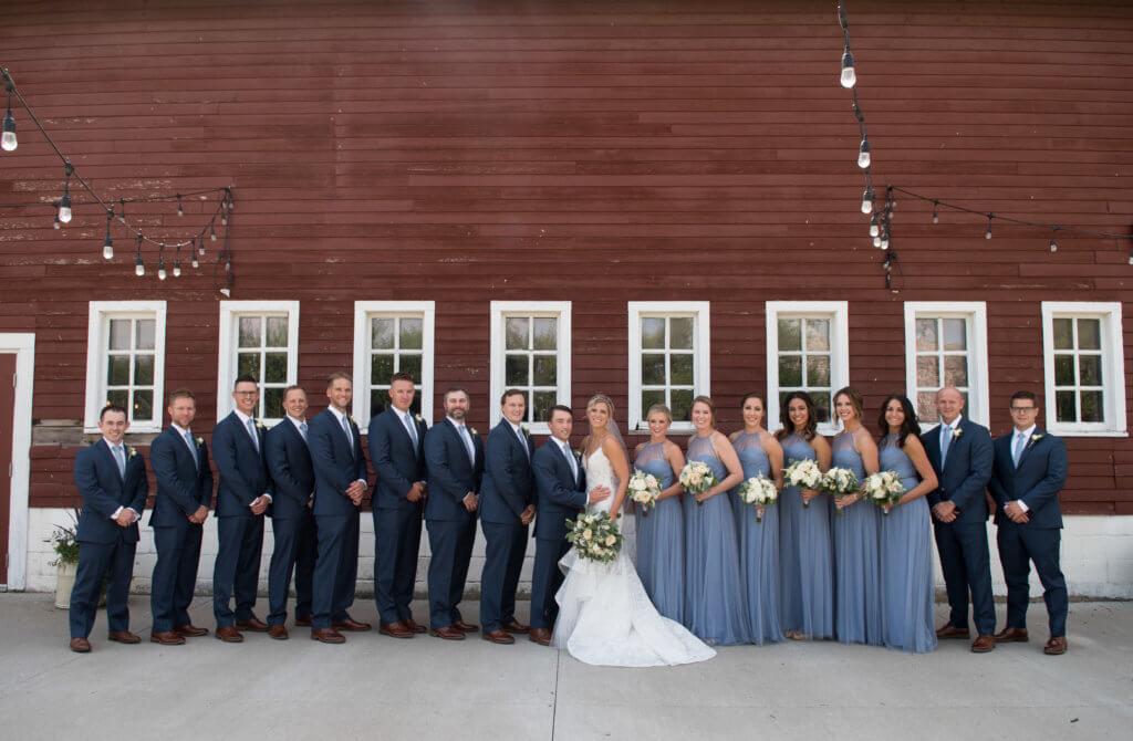 Omaha Wedding Ackerhurst Dairy Barn Dana Osborne Design