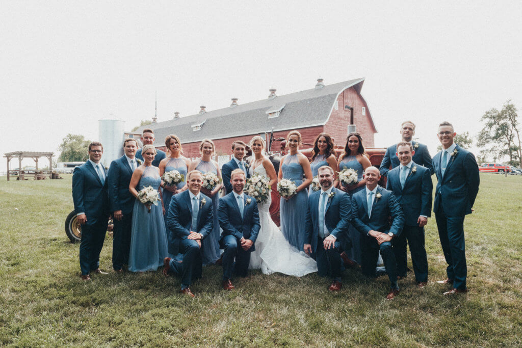 Ackerhurst Dairy Farm Omaha Nebraska Wedding Dana Osborne Design