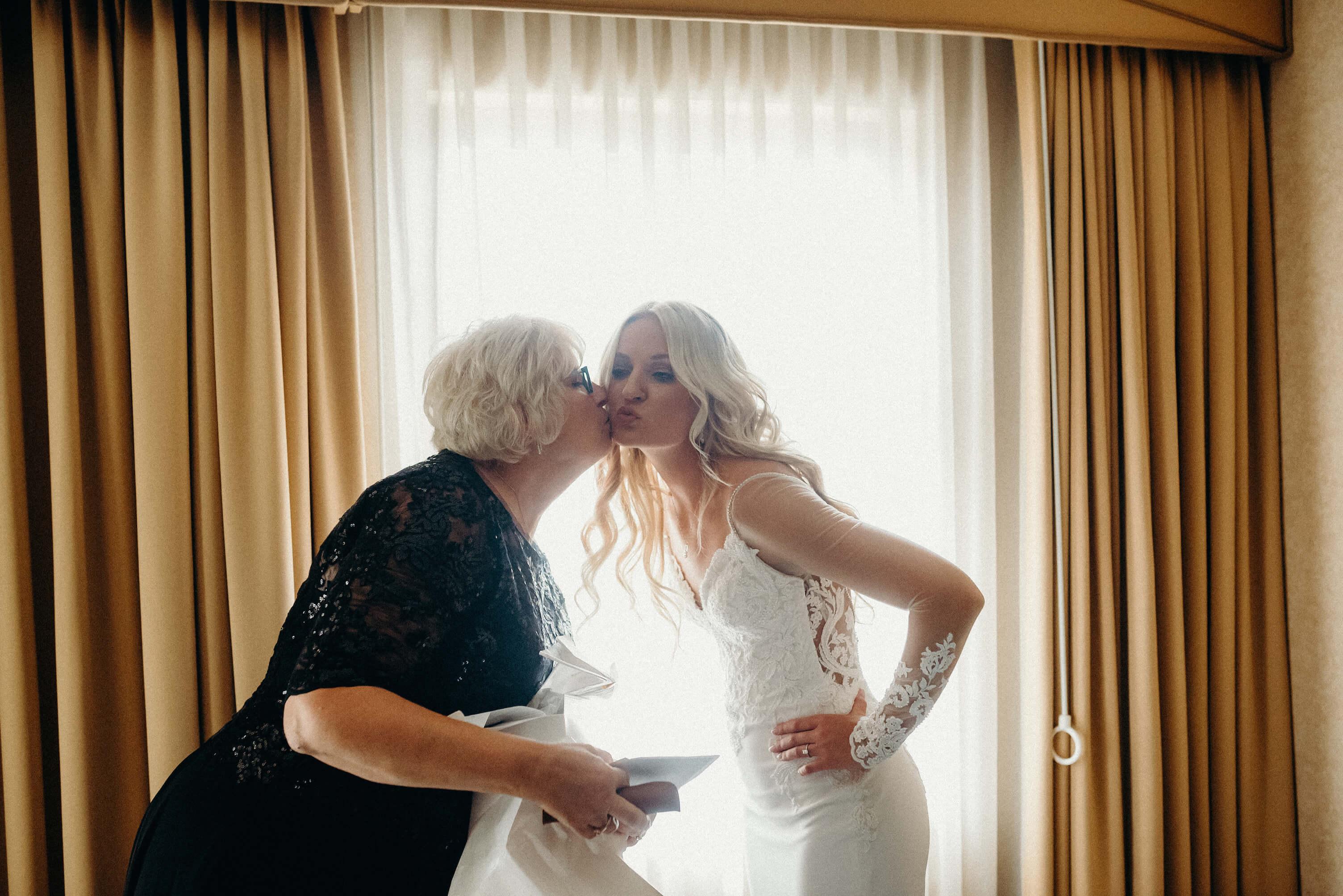 Haley Trenton Lincoln Nebraska Wedding Dana Osborne Design Mom