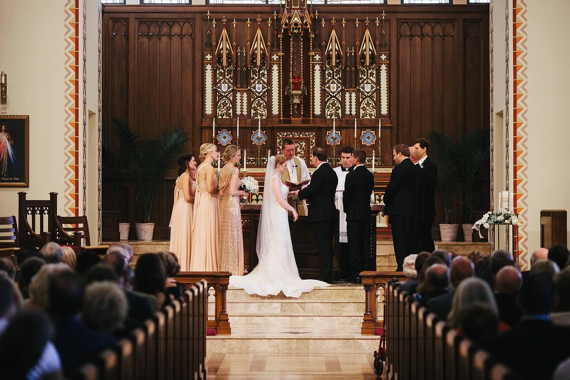 St. Thomas Aquinas Church, Lincoln, Nebraska  |  Dana Osborne Design Wedding Invitations