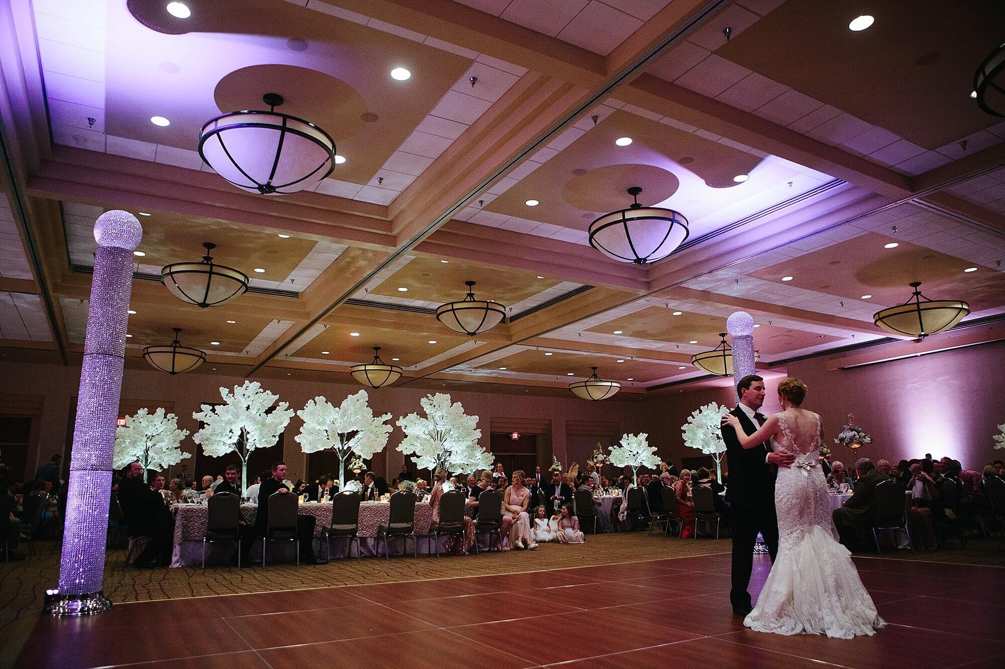 The Cornhusker Hotel Lincoln, Nebraska Wedding  |  Dana Osborne Design Wedding Invitations