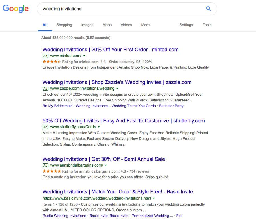 google wedding invitations dana osborne design