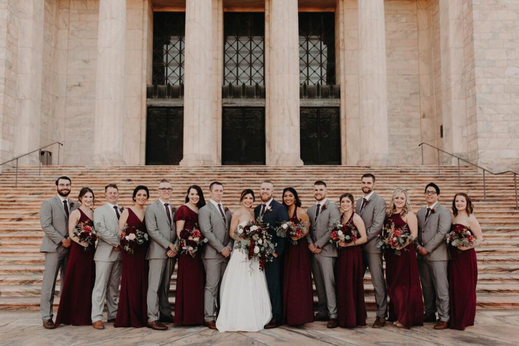 joslyn art museum omaha nebraska dana osborne design wedding