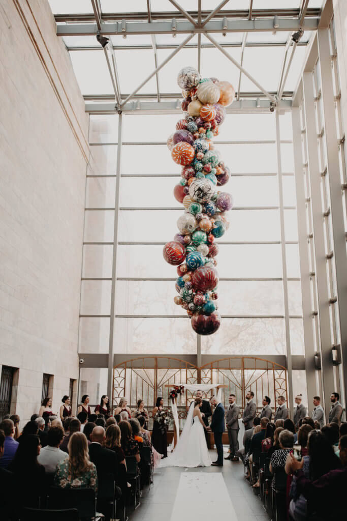 joslyn art museum wedding omaha dana osborne design