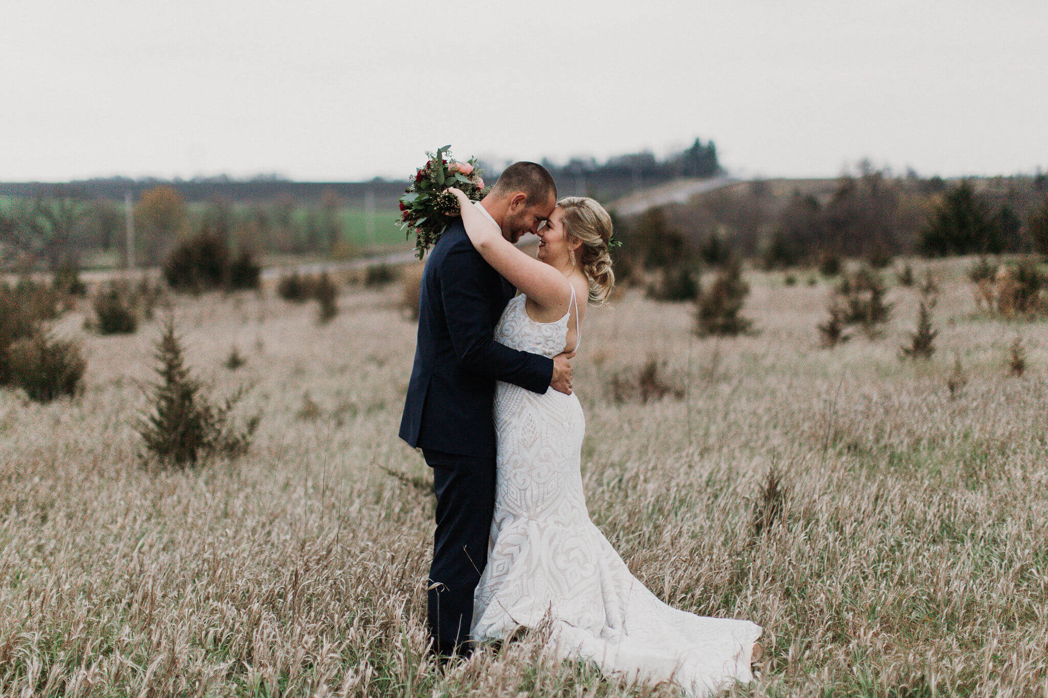 Burgundy Roca Ridge Events Wedding Nebraska Dana Osborne Design