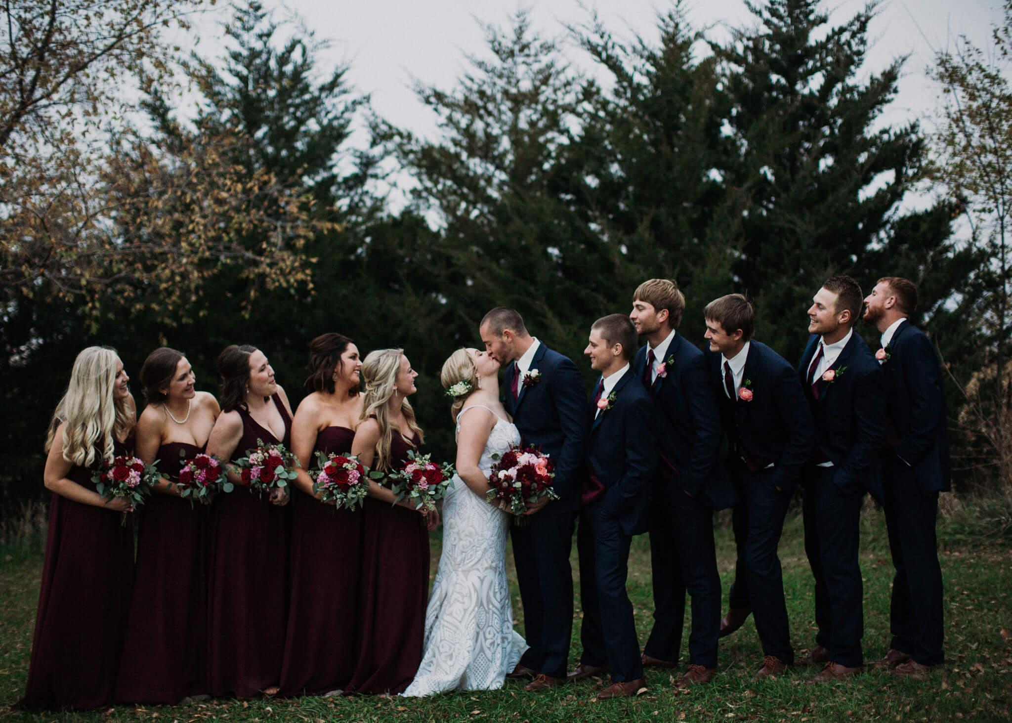 Wedding Party Roca Ridge Events Dana Osborne Design