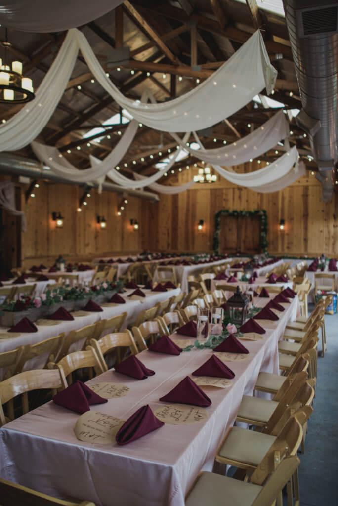 Wedding Reception Roca Ridge Events Dana Osborne Design