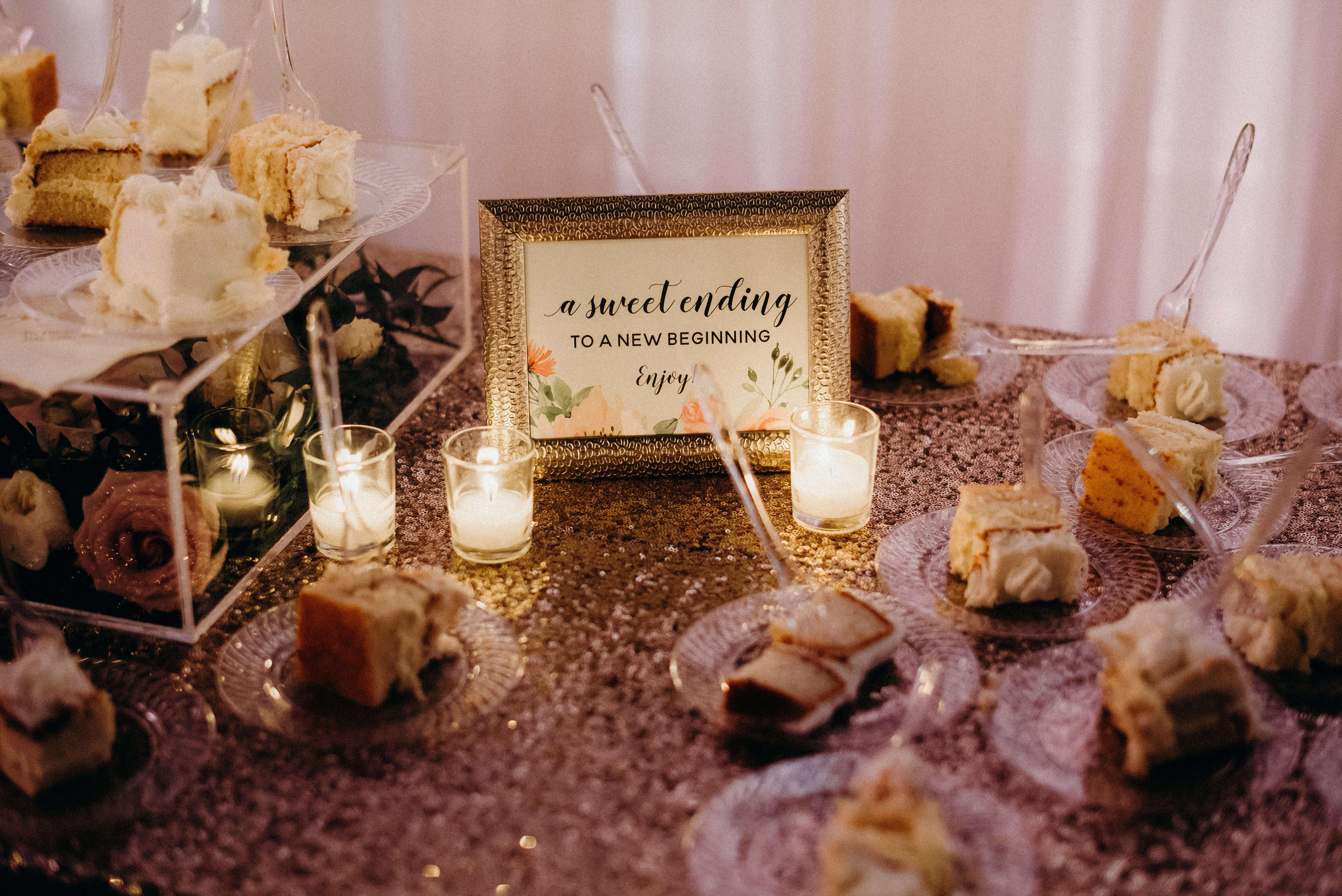 Cake Sign Wedding