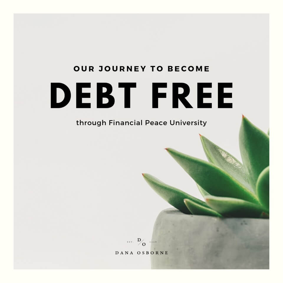 Debt Free with Dave Ramsey.  Our Story.