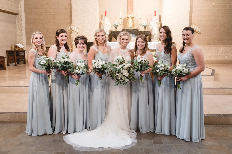 Bridesmaids Lincoln, Nebraska Wedding