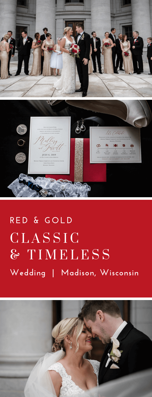 classic, wedding invitations, red, scarlet, Dana Osborne Design, midwest, wisconsin
