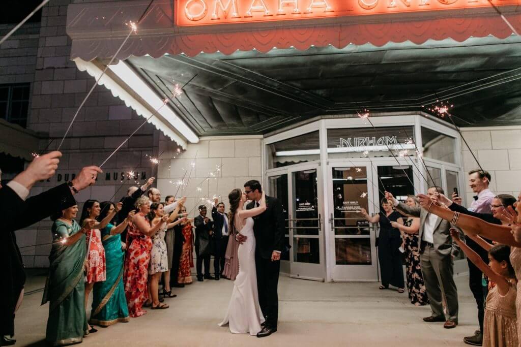 Durham Museum Indian Wedding, Omaha  |  Dana Osborne Design