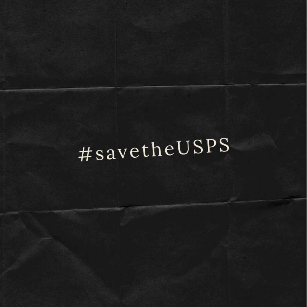 Save the USPS  - How the USPS slowdown has effected my small business  - Featured on CNN