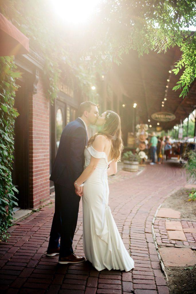 Old Market Omaha Wedding