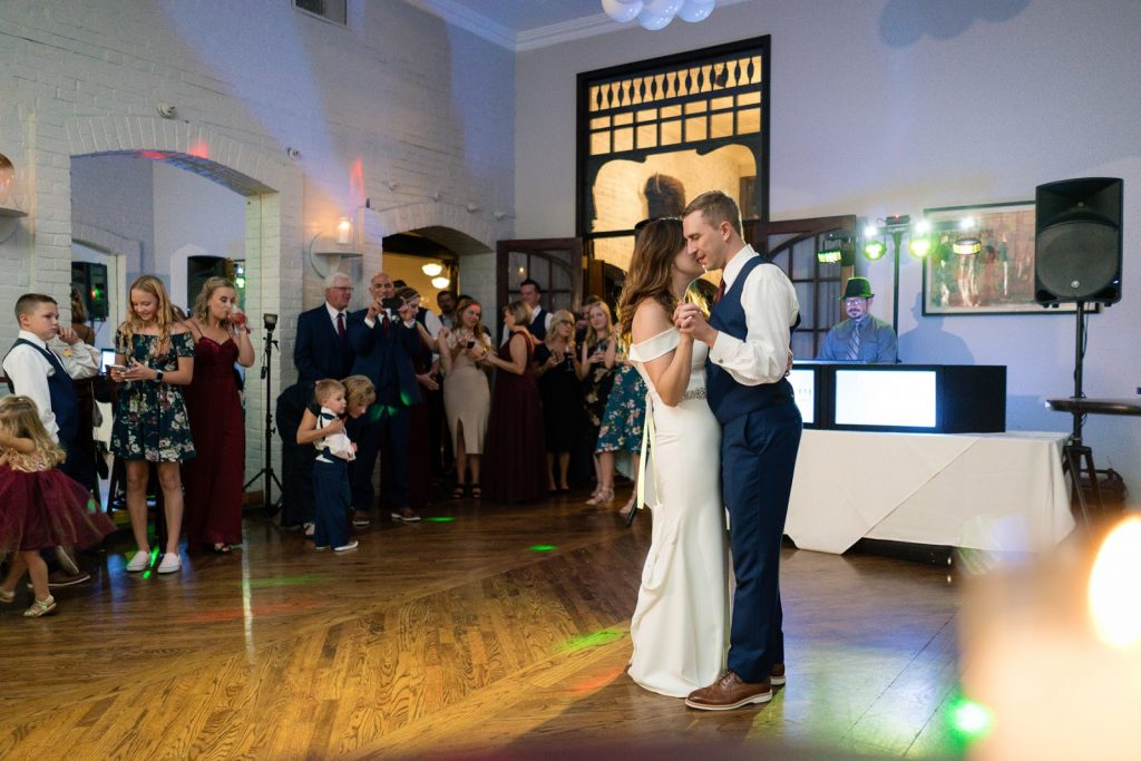 First Dance Omaha Wedding Invitations