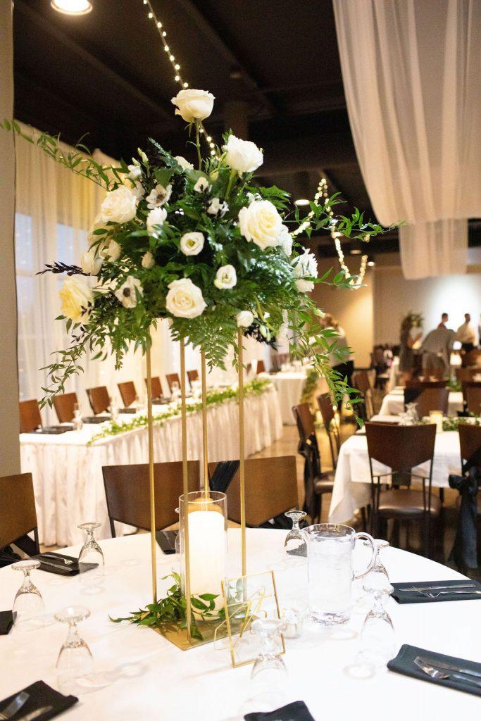 a view on state omaha nebraska wedding reception
